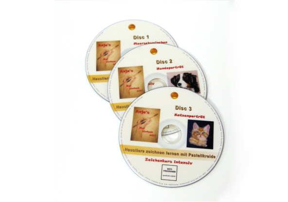 Zeichenkurs Tiere Pastellmalerei DVD